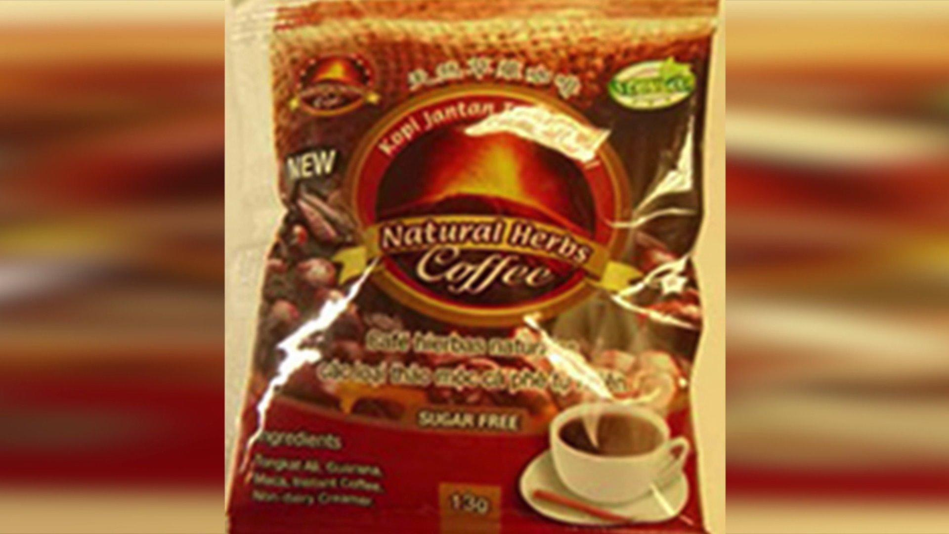 Coffee Recalled Over Undeclared Viagra-Like Ingredient