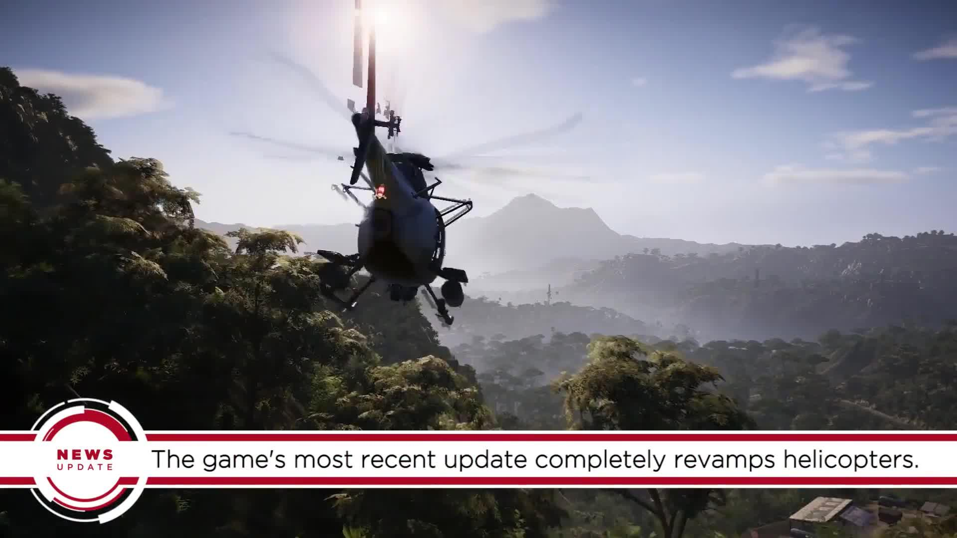 GS News Update: Ghost Recon Wildlands Is Getting A PvP Beta And Better Helicopter Controls