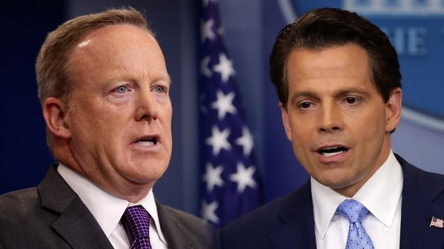 Anthony Scaramucci Downplays Reports of White House Tension