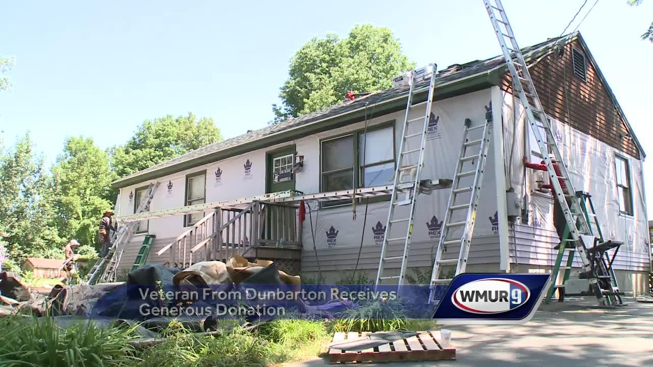 Company donates roof, siding repairs to veteran