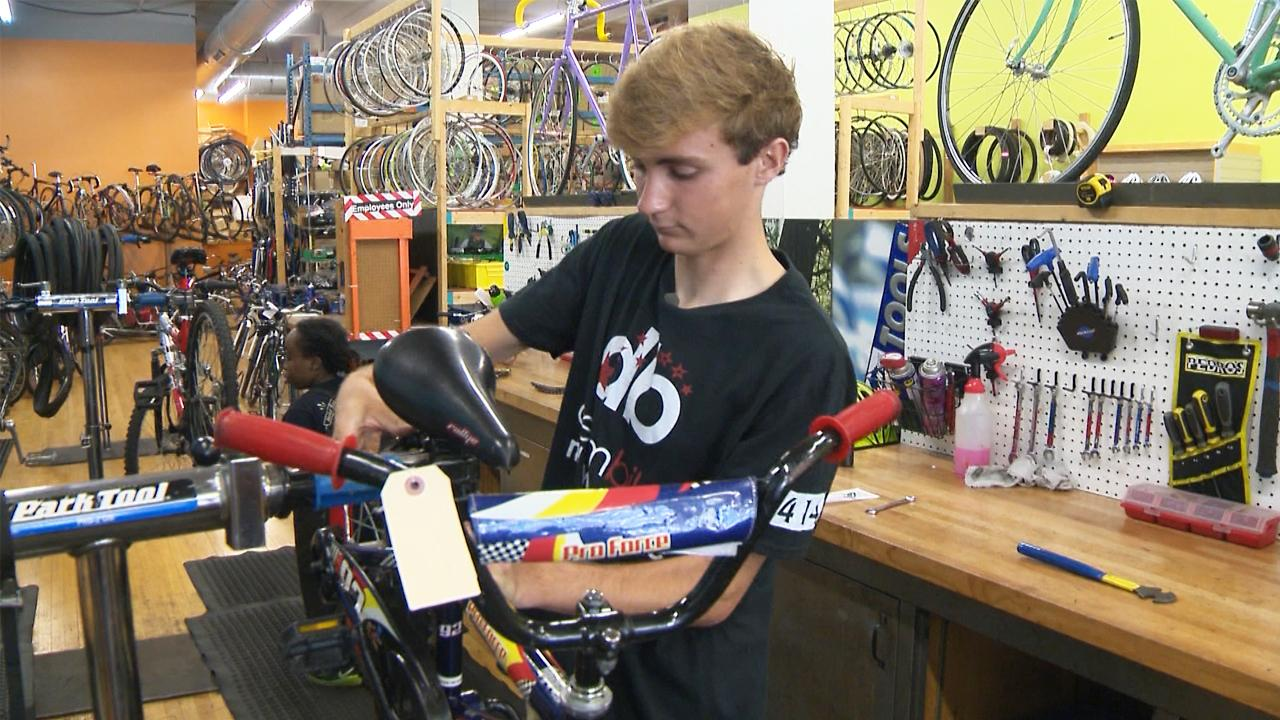 Eagle Scout, competitive cyclist aims to share joy of biking with young people
