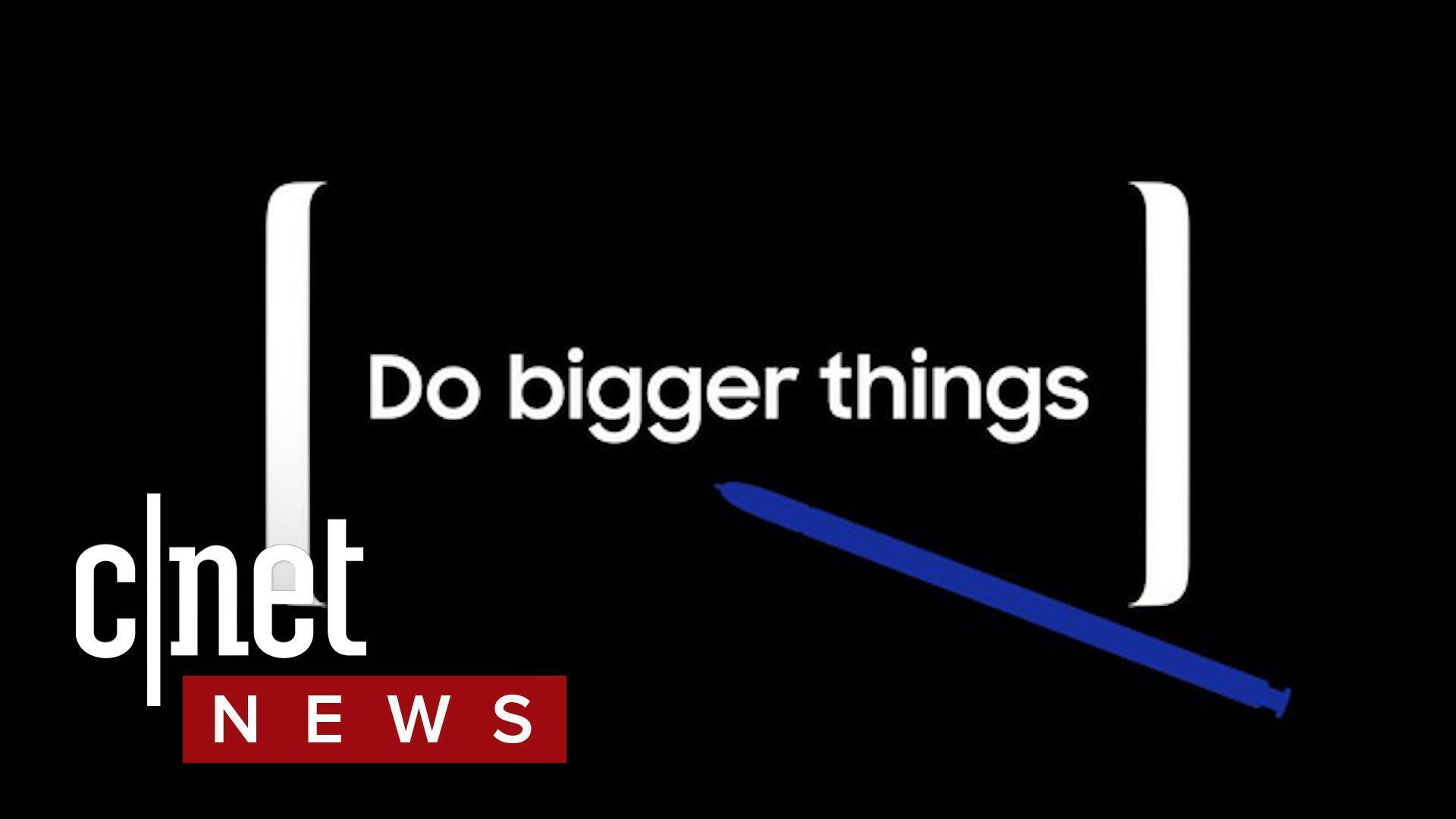 Samsung Galaxy Note 8 reveal set for Aug. 23; Musk plans East Coast hyperloop