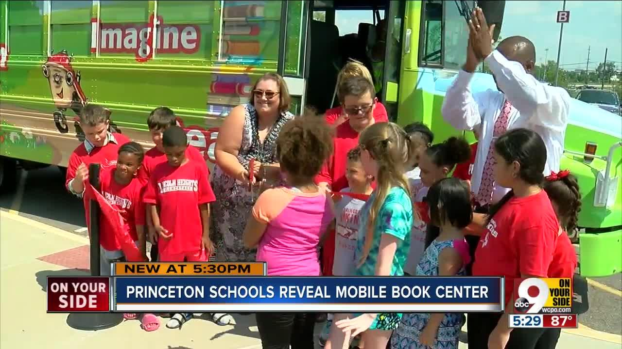 Princeton bookmobile brings the library to you