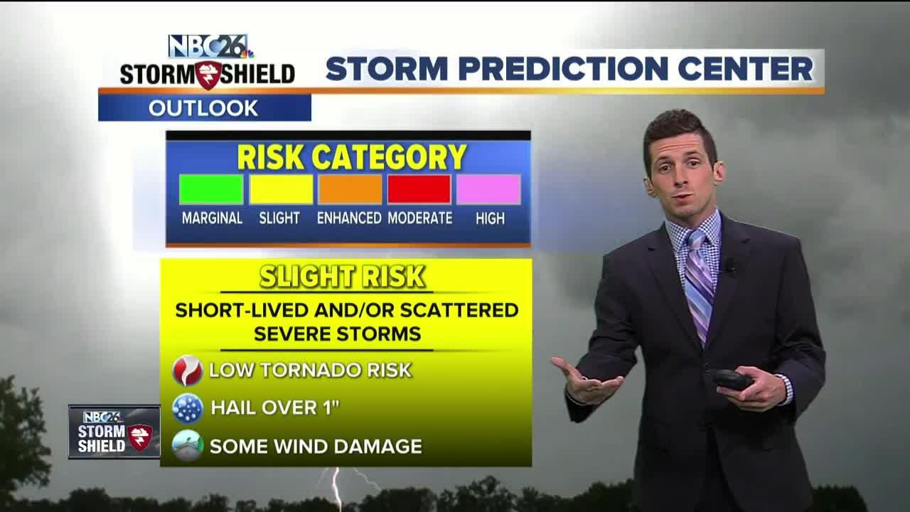 Storms likely tonight, some possibly severe