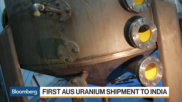 First Australian Uranium Shipment to India