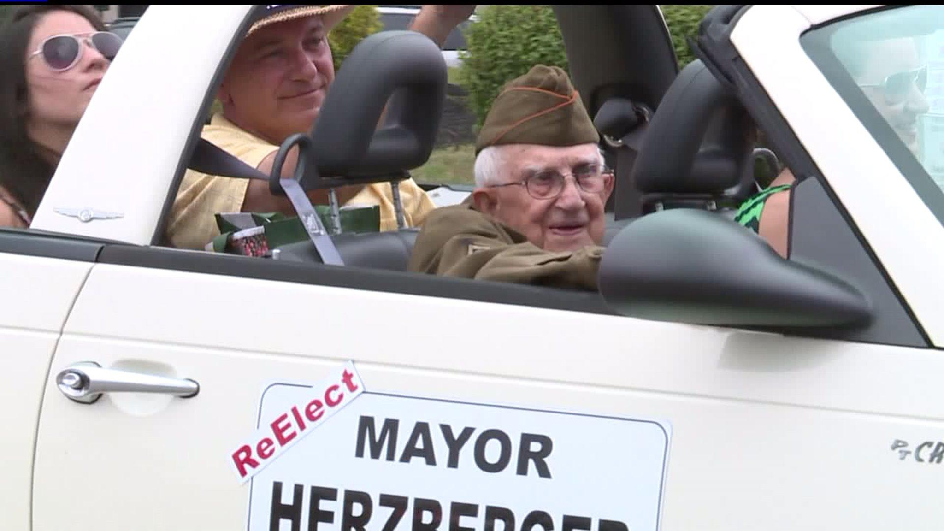 Pennsylvania Parade Honors Fallen Firefighter, 99-Year-Old WWII Veteran