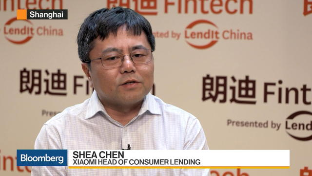 Xiaomi's Chen Sees Problems in China's Fintech Sector