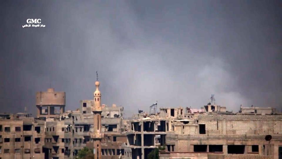 Syrian warplanes strike near Damascus despite ceasefire - Syrian Observatory