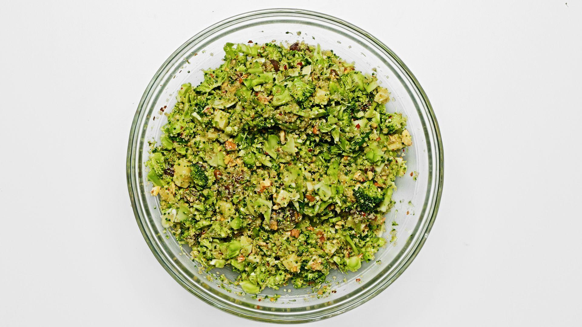 How to Make Broccoli Quinoa Salad