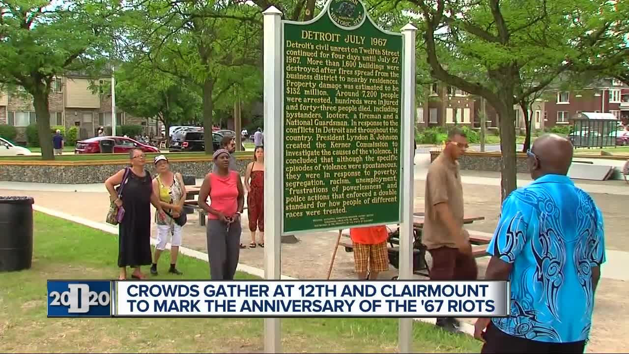 Unveiling of historical marker at 12th and Clairmount brings back memories