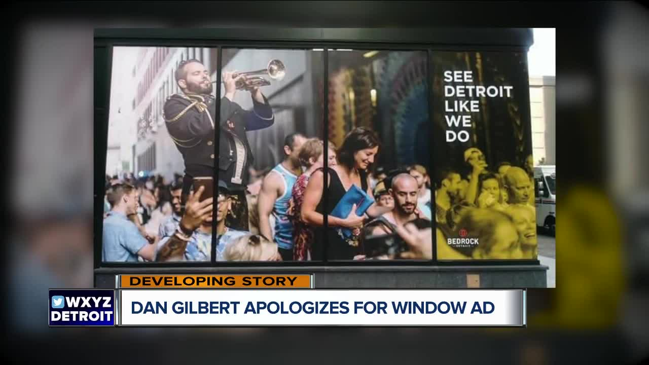 Dan Gilbert apologizes for controversial graphic on Detroit building