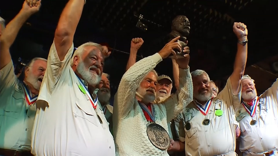 Bearded 'Papas' channel Hemingway at annual look-alike contest