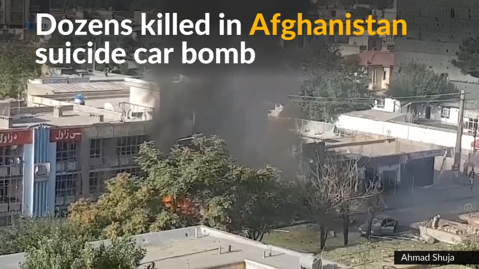 Taliban attack kills dozens in Afghanistan