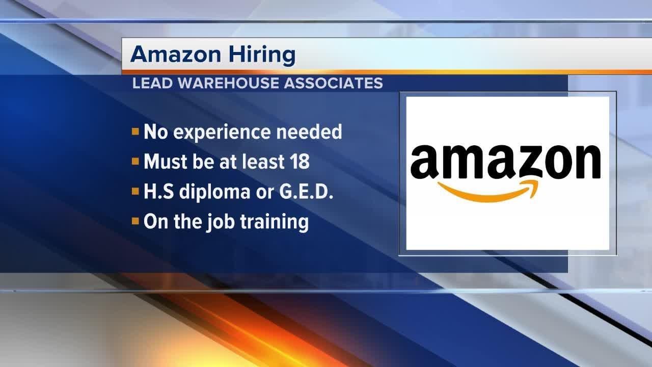 Amazon is Hiring!