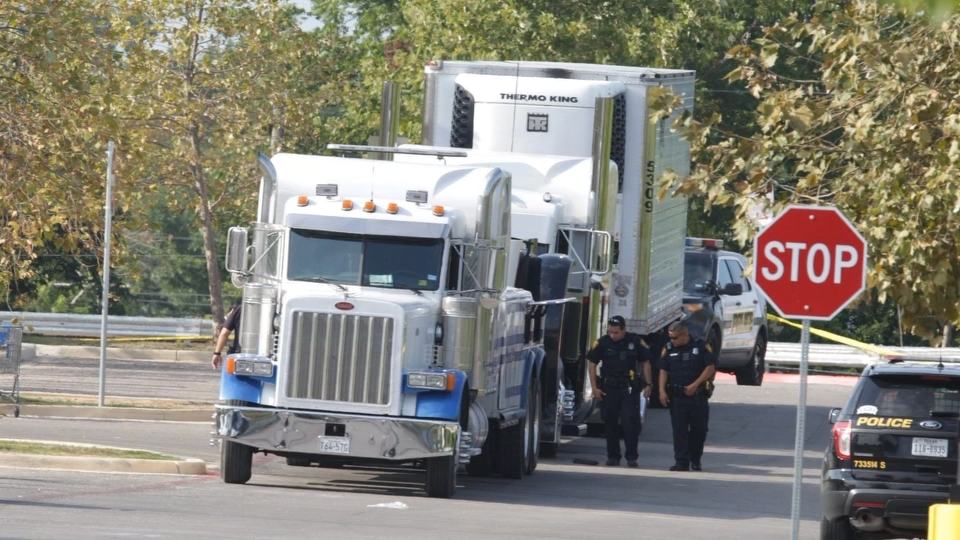 Driver due in court after tractor-trailer bodies discovery