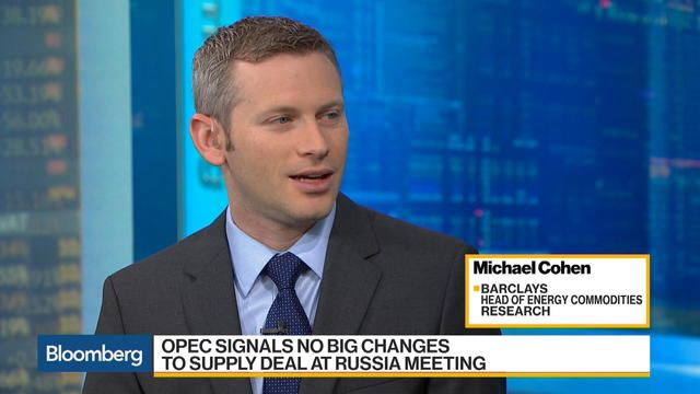 Barclays' Cohen Says Price Swings Drive OPEC Signaling