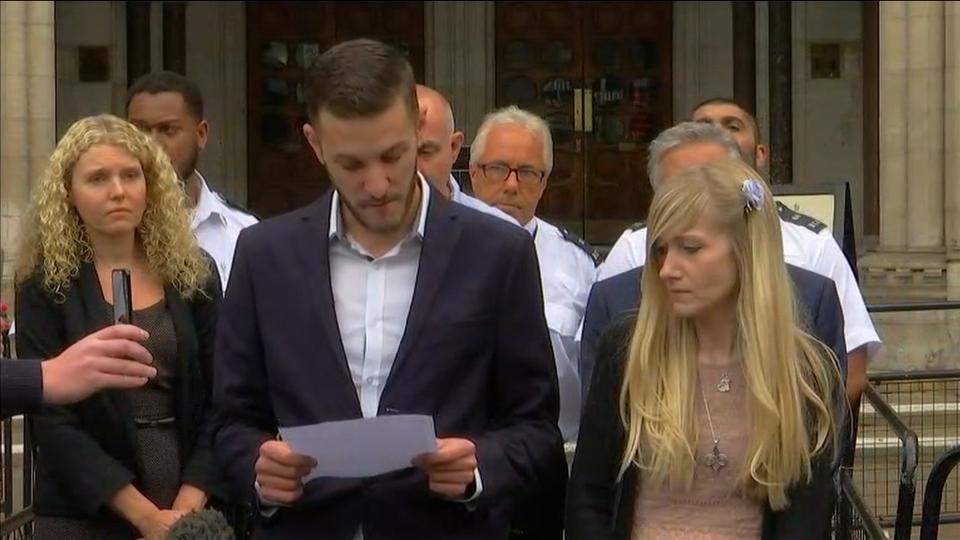 Parents of UK baby Charlie Gard agree to let him die