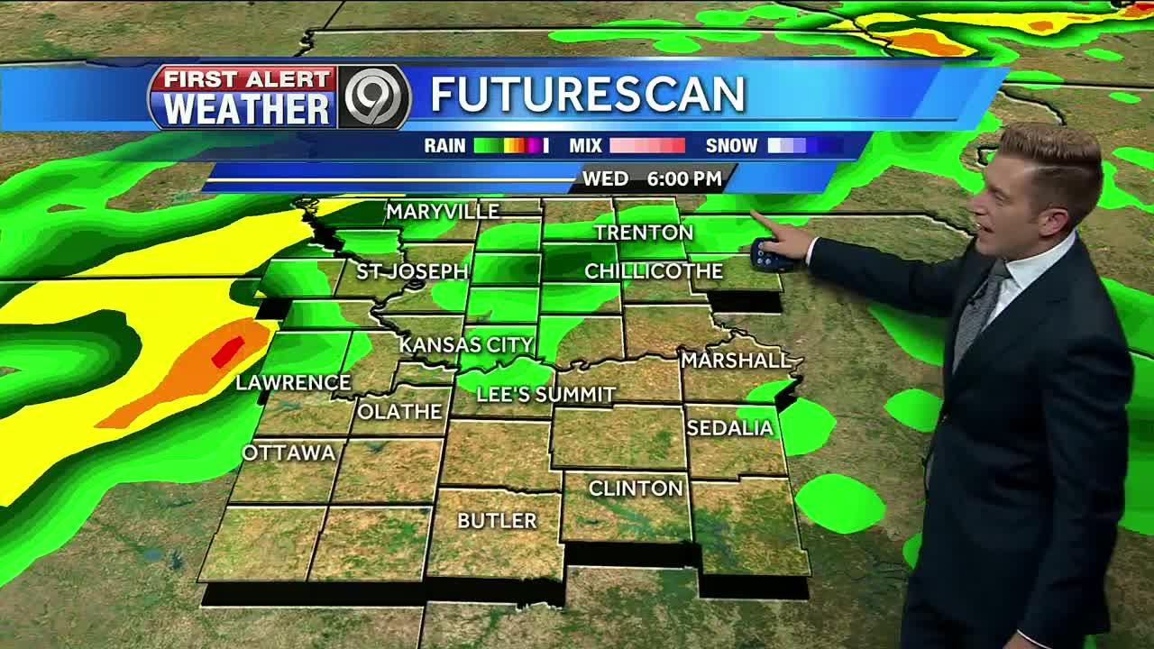 First Alert: Another chance of storms on Wed.