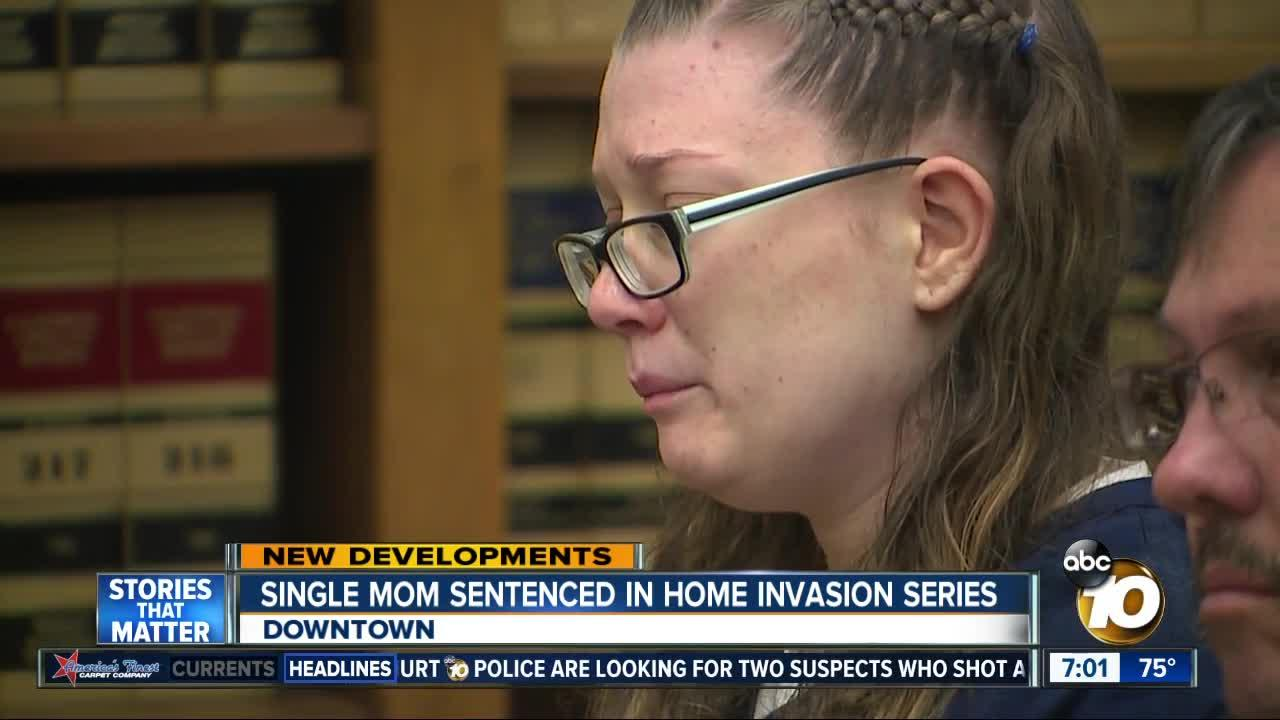 2 Sentenced for home invasion series