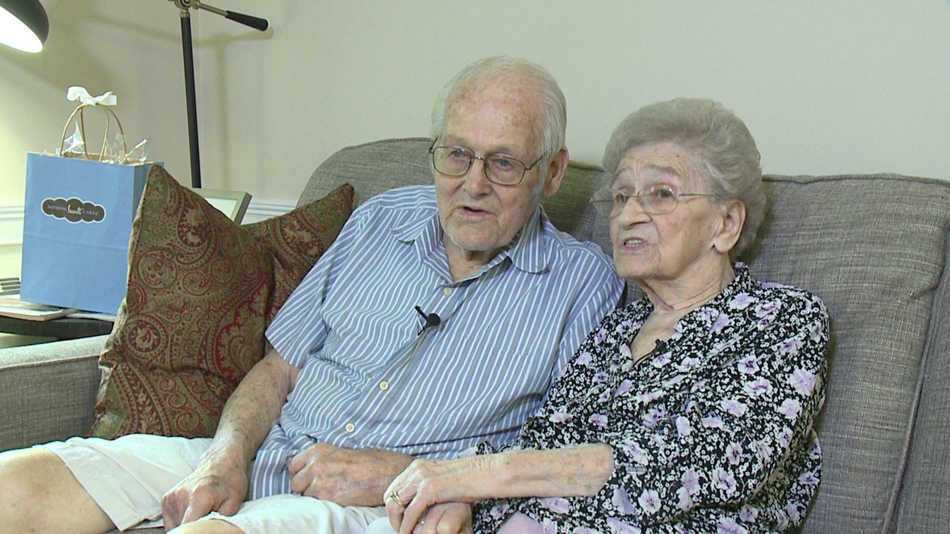 Couple Celebrating 80th Wedding Anniversary Gets Sweet Surprise