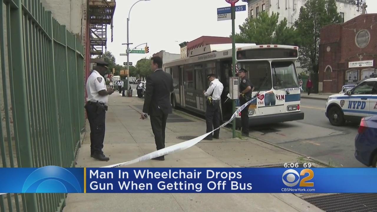 Cops: Man In Wheelchair Drops Gun While Getting Off MTA Bus