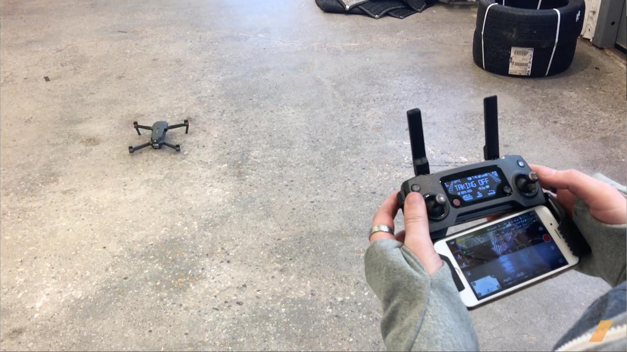 Learning to Fly the DJI Mavic Pro -- /AERIAL