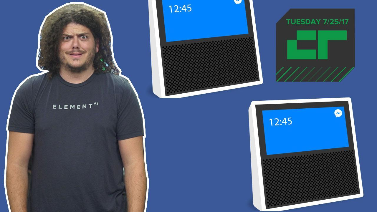Crunch Report | Facebook Smart Speaker on the Way