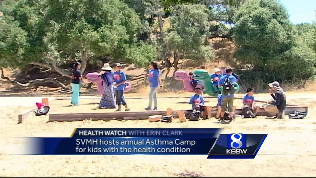 Annual Salinas camp for kids with asthma in full swing