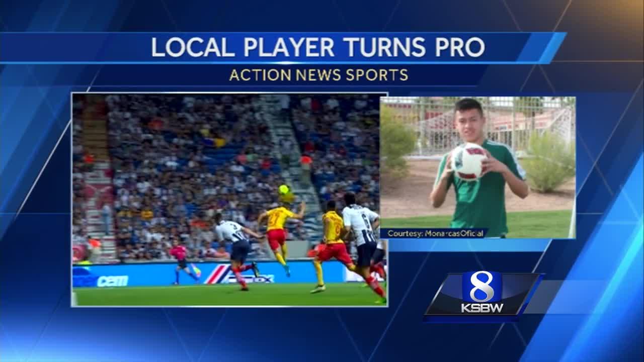 Salinas Soccer Star Turns Pro