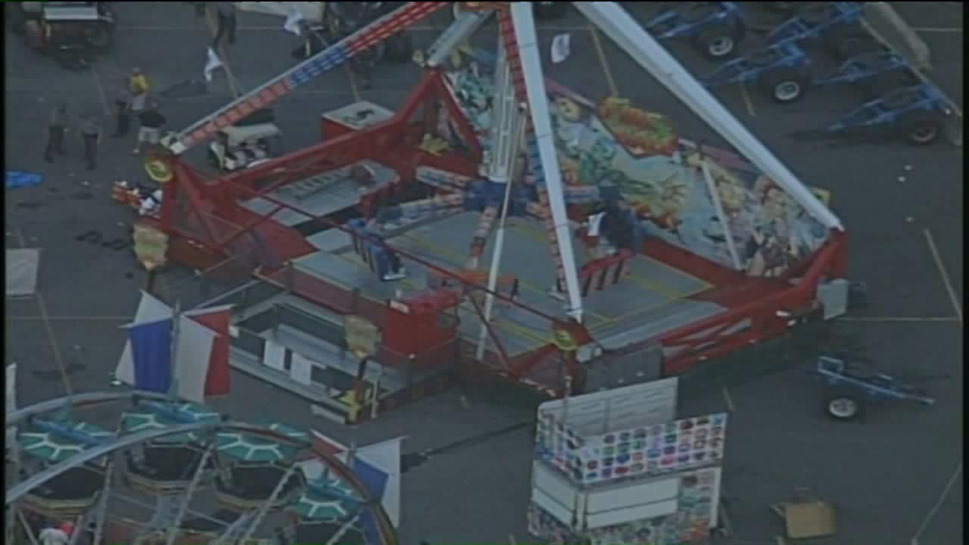 One Dead, Seven Injured After Ohio State Fair Ride Malfunctions