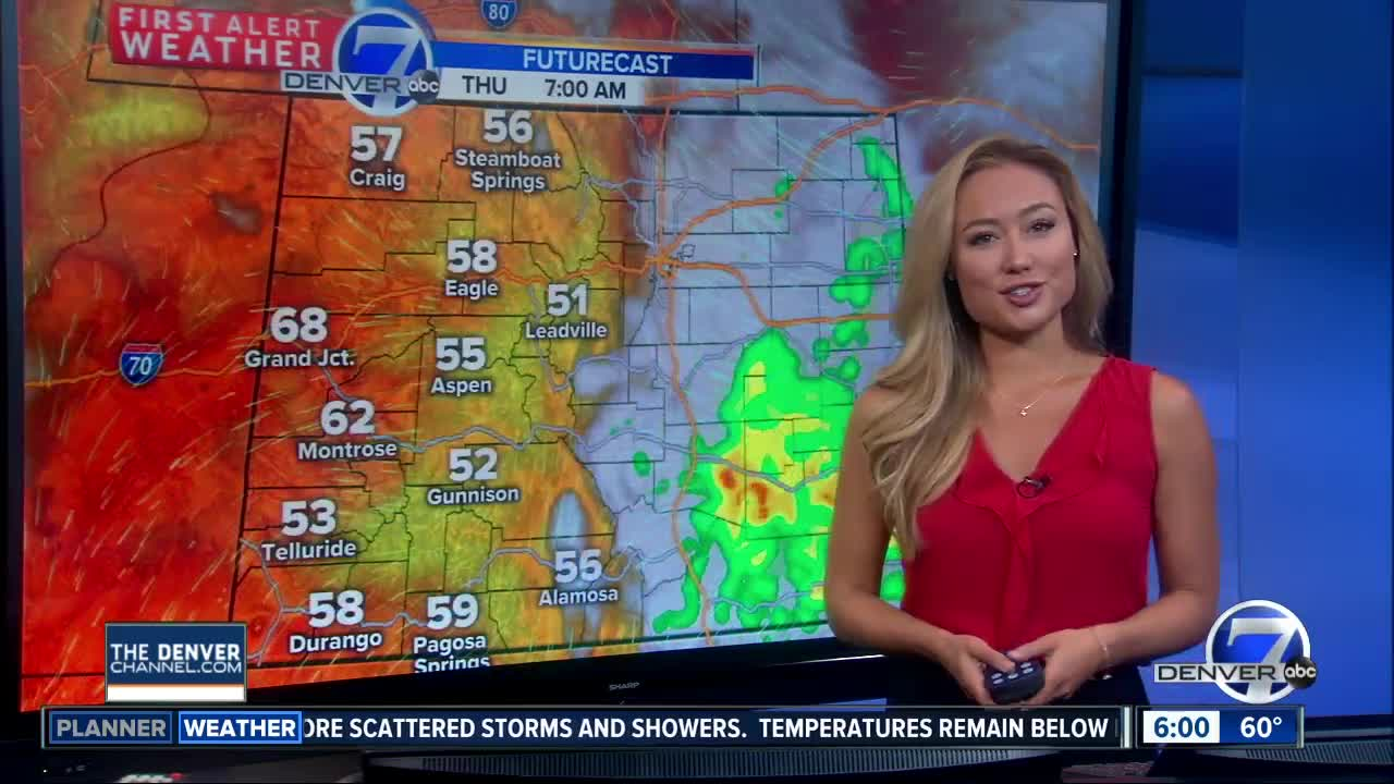 Storms could return in the second rainy day of the week