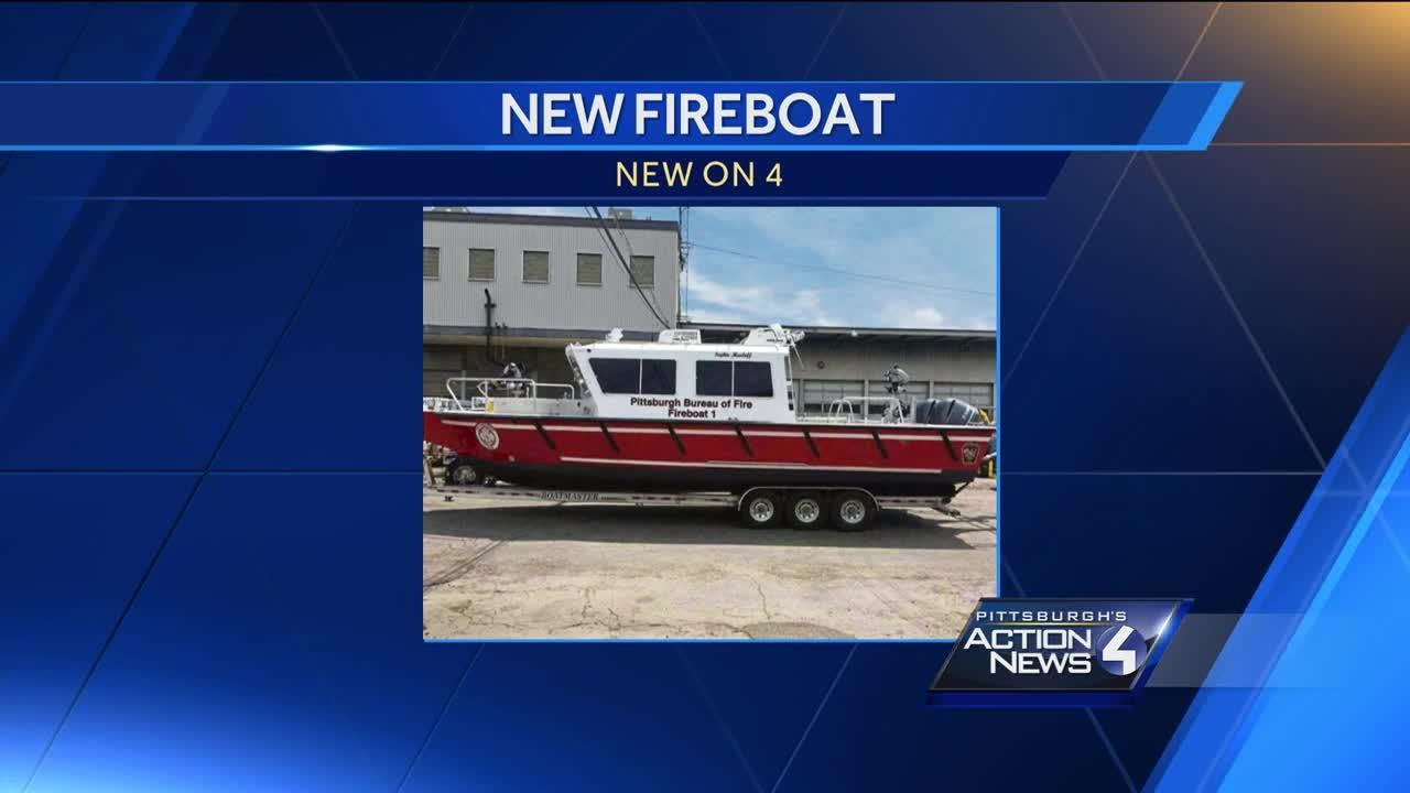 Fireboat named in honor of Sophie Masloff
