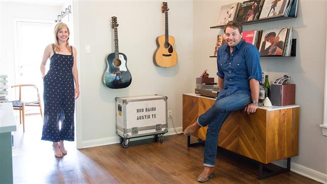 Country Musician's Austin Home Designed by His Architect Sister