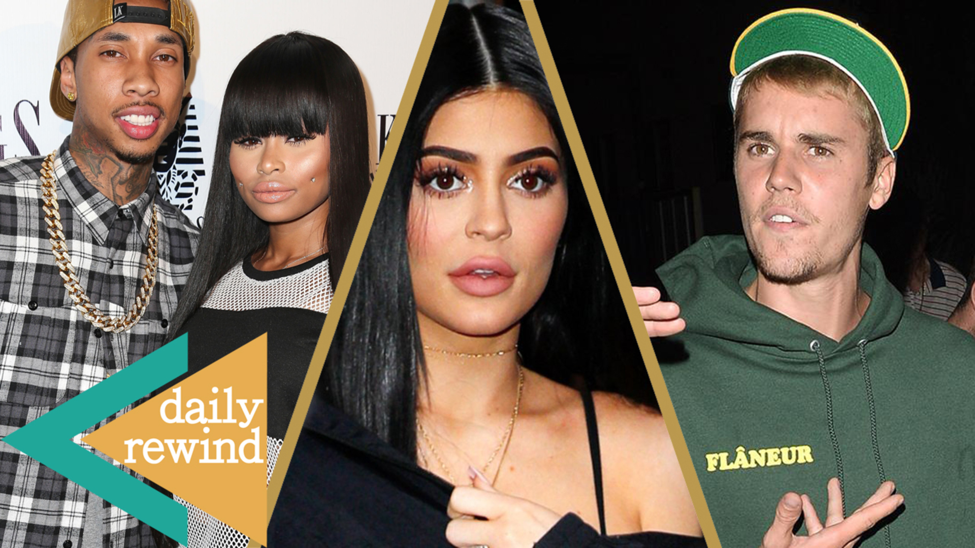 Blac Chyna REUNITES with Tyga, Kylie Jenner Worried About Her New Show, Bieber's Car Accident -DR