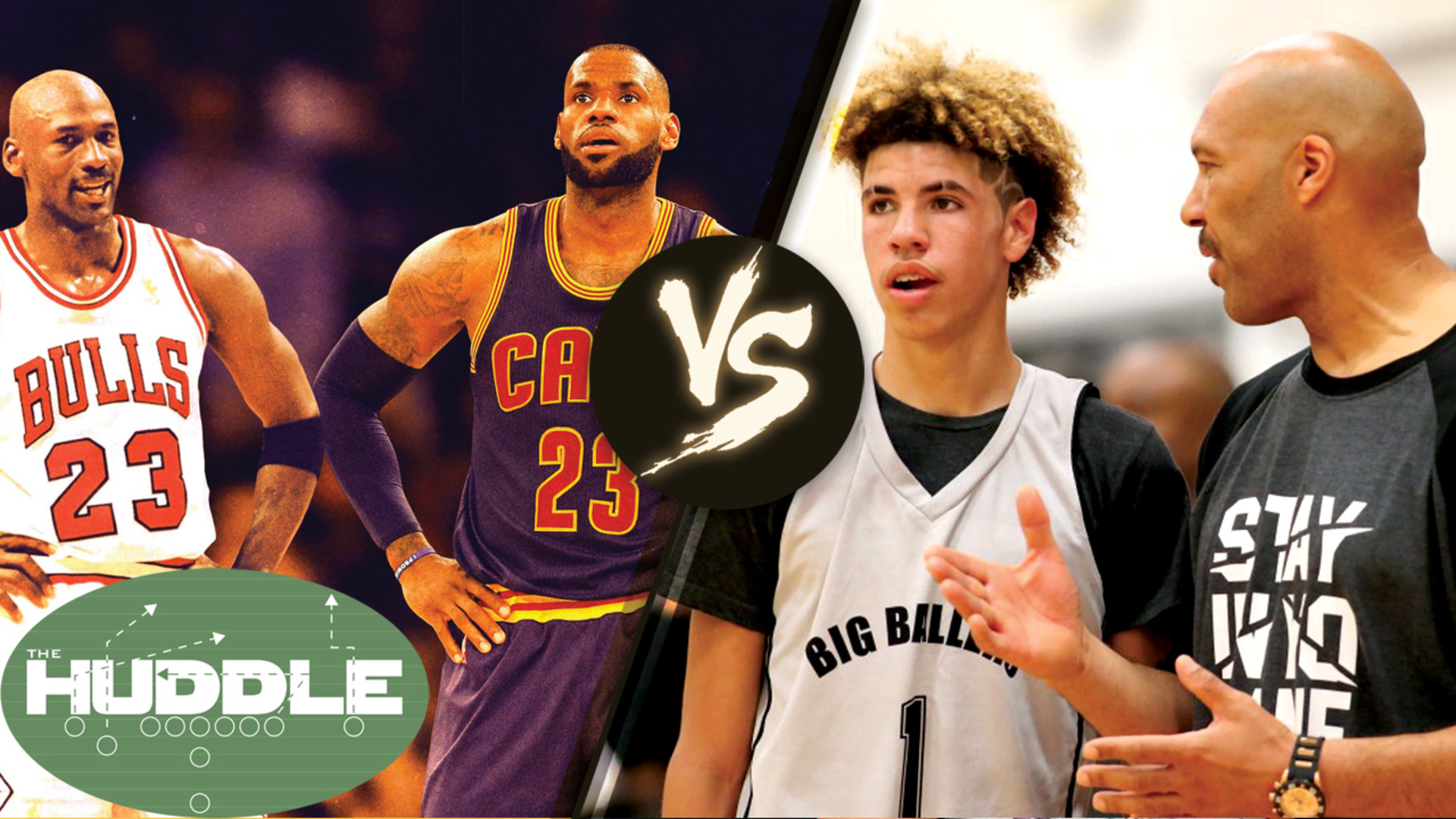 LaVar Ball Says He & Son LaMelo Could BEAT LeBron James & Michael Jordan 2-on-2 -The Huddle
