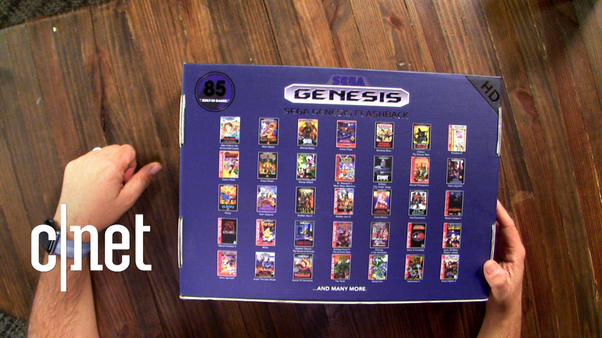 Sega Genesis Flashback unboxing