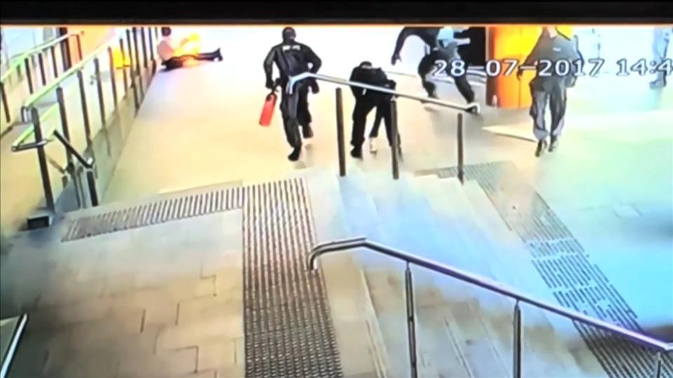 Man sets himself on fire in Sydney