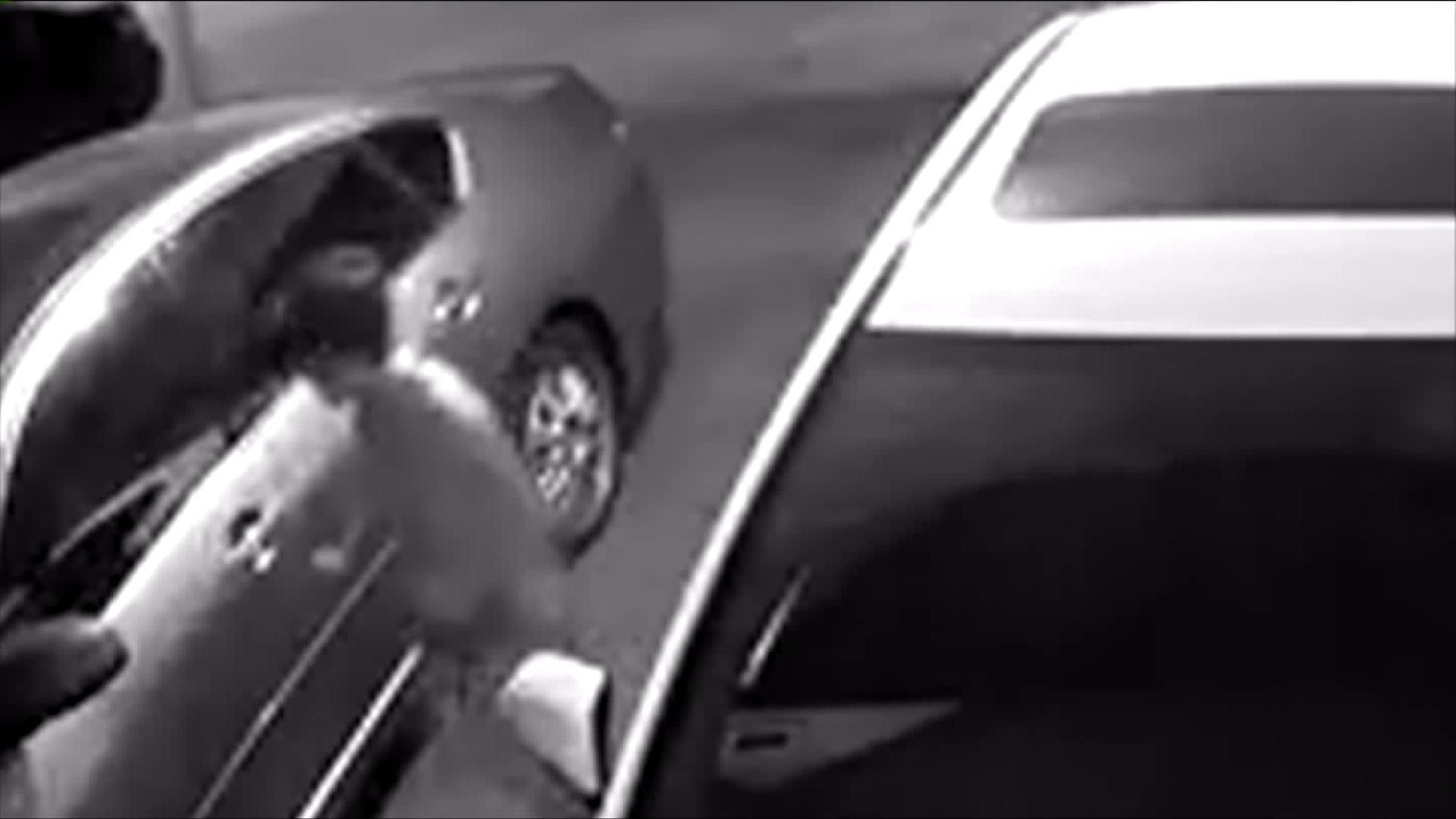 Video Appears to Show Child Breaking Into Cars in California
