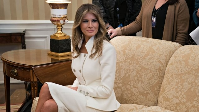 Melania Trump's First Solo Trip Abroad Is to Invictus Games
