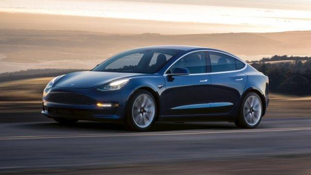 Tesla Rolls Out the First of Its New Model 3s