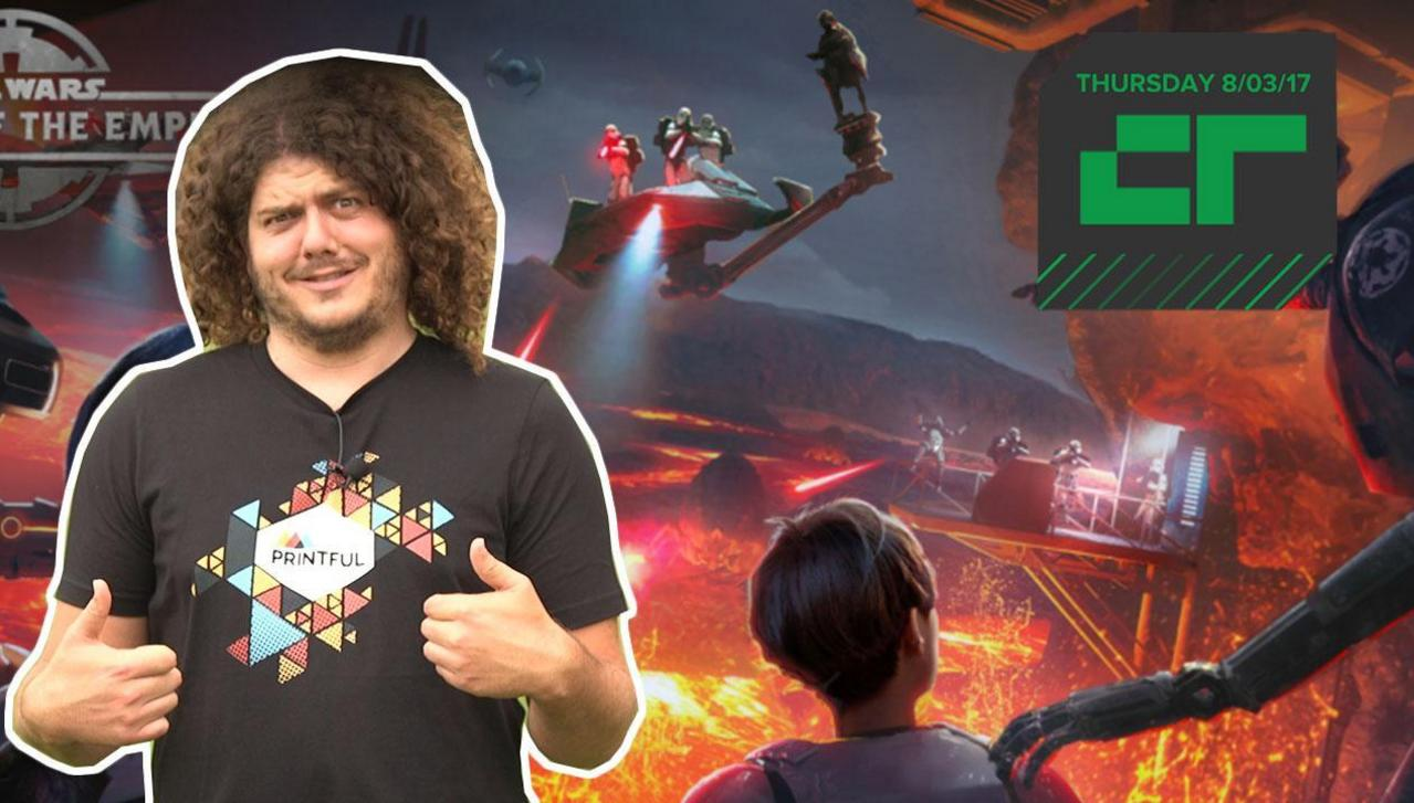 Crunch Report | Virtual Reality Star Wars Experience Is Coming to Disney Parks