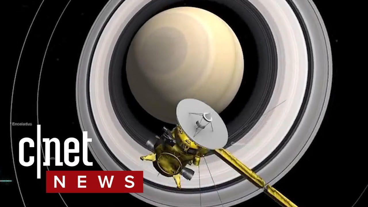 Cassini creeps closer to Saturn's surface