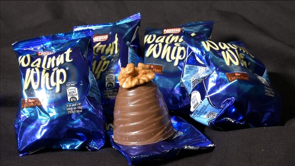Walnut whipped out: Nestle favours nut-free fondants