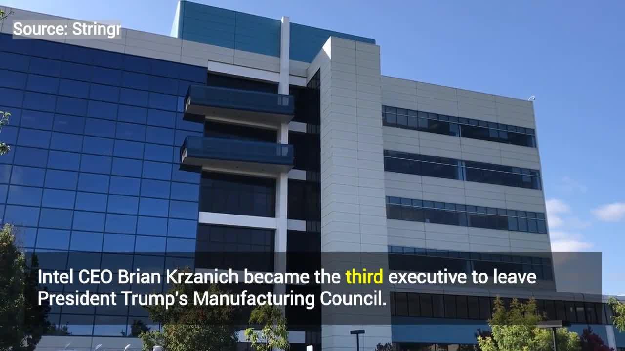 Six Business Leaders Quit Trump's Advisory Council