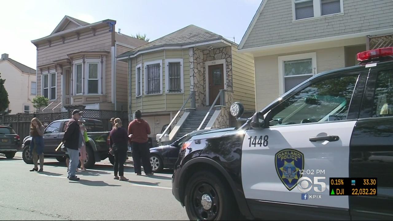 ICE Investigators Serve Human Trafficking Warrant In West Oakland Neighborhood