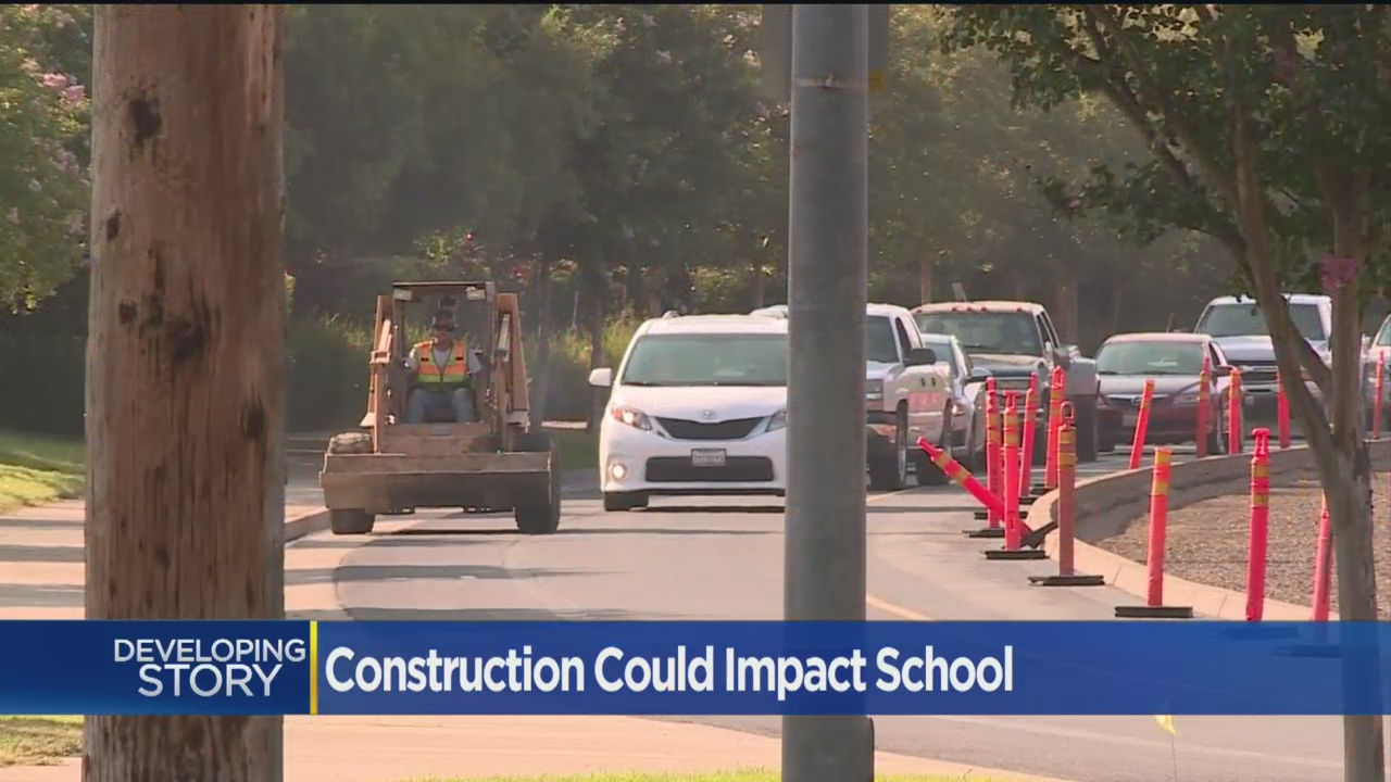 Construction Project Causing Headaches For Roseville Parents As School Starts