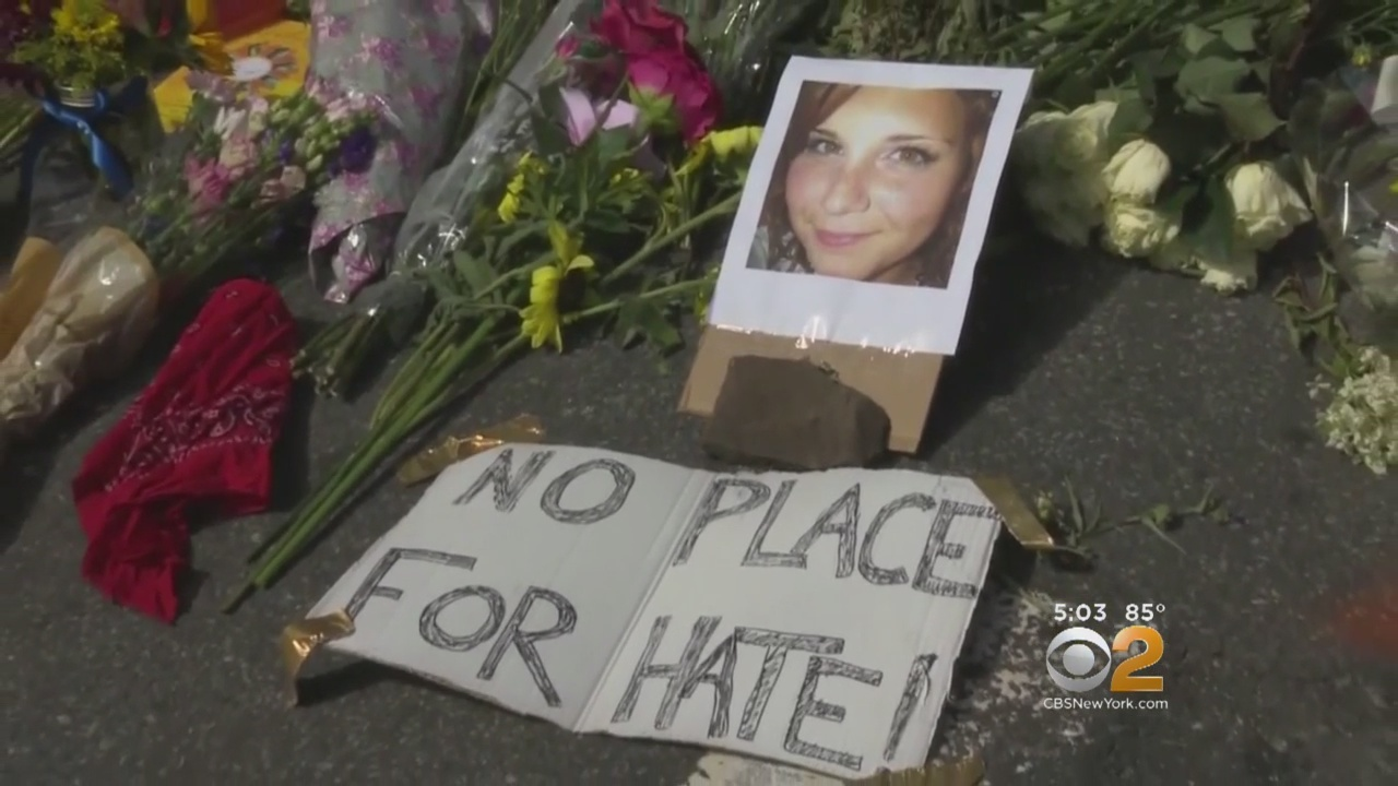 Memorial Service Held For Young Woman Killed In Charlotteville