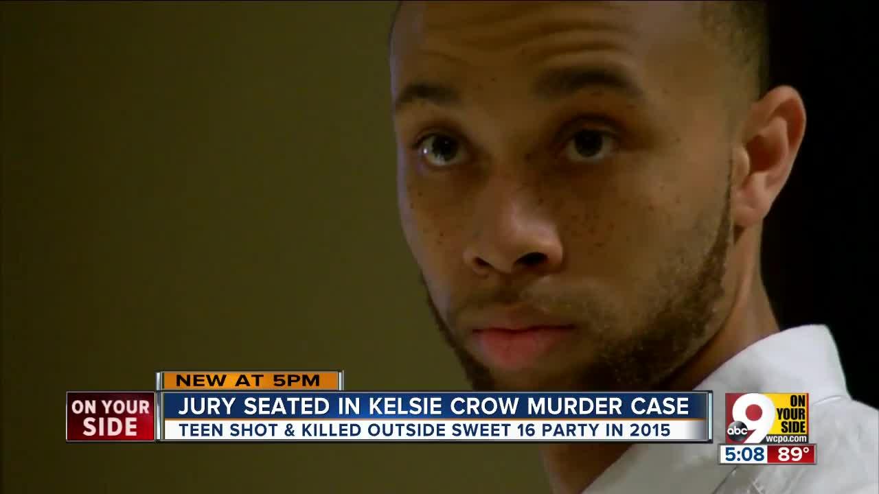 Jury seated in Kelsie Crow murder case