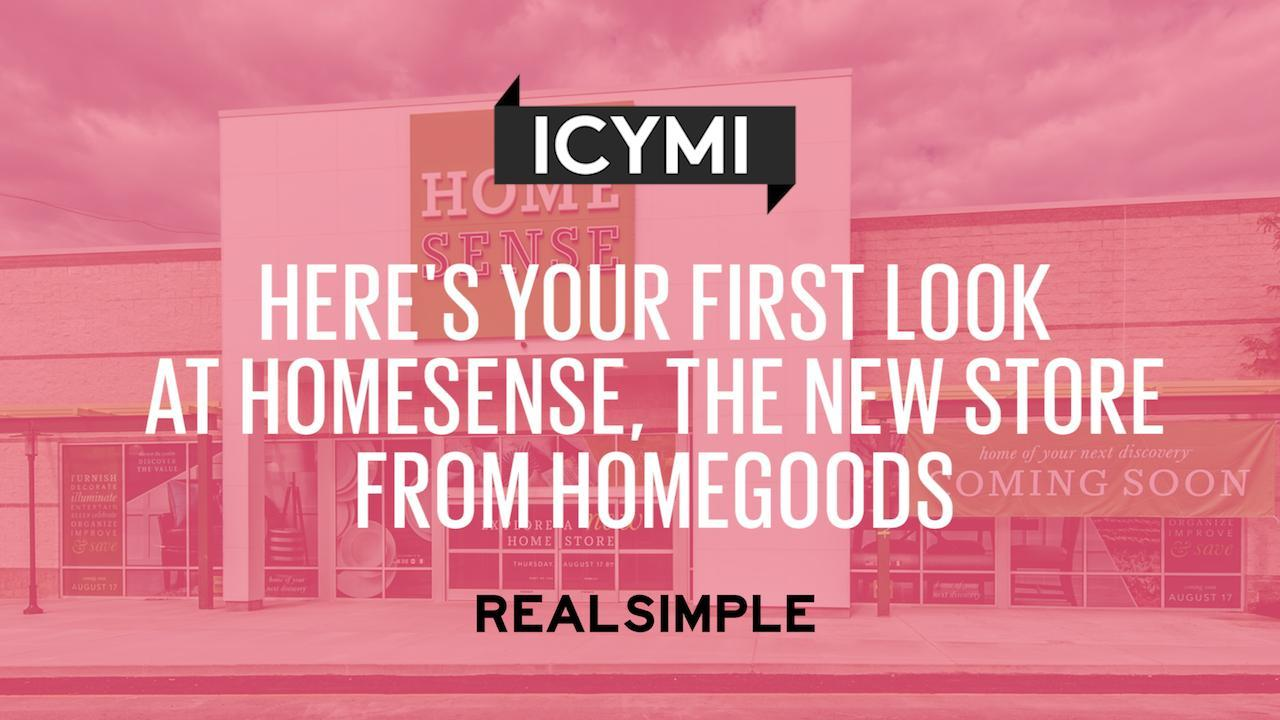 Here's Your First Look at Homesense, the New Store From HomeGoods