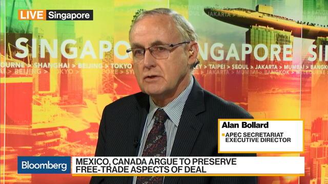 APEC Secretariat's Bollard on Nafta Talks, Asia Interests